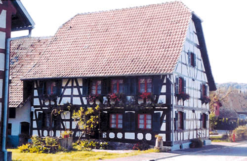 Maison traditionnelle - Traubach-le-Haut